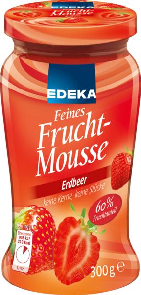 Feines Fruchtmousse Erdbeer, Dezember 2017