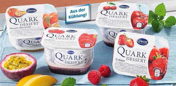 Quark-Dessert, Oktober 2010
