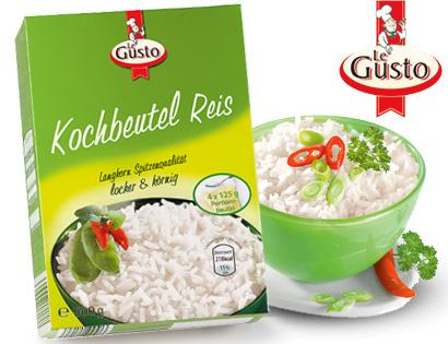 Kochbeutel Reis, 4x 125 g, M�rz 2014