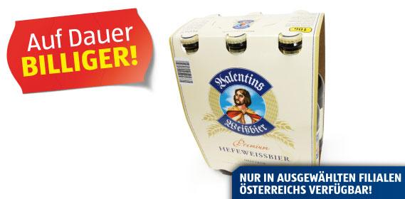 Premium Weißbier, 6 x 0,5 l, Mai 2012