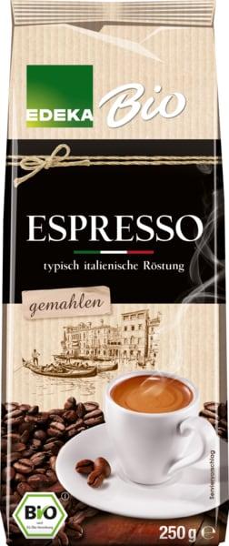 Espresso, gemahlen, M�rz 2018
