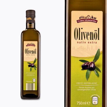 Olivenöl, extra vergine, kaltgepresst, Oktober 2013