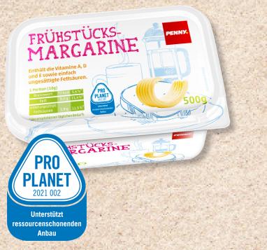 Frühstücks-Margarine, Juni 2012