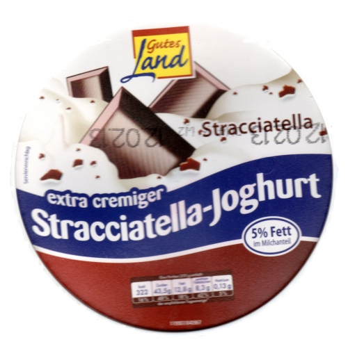 Stracciatella-Joghurt, Januar 2013
