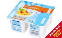 Fruchtjoghurt,, 4 x 150 g, Juni 2012