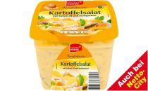 Kartoffelsalat mit Sahne, Ei und Gurken, Juni 2012
