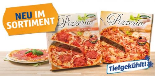 Pizzeria 2 Stück, Prosciutto, Juni 2012