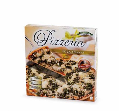 Pizzeria 2 Stück, Spinaci, April 2013