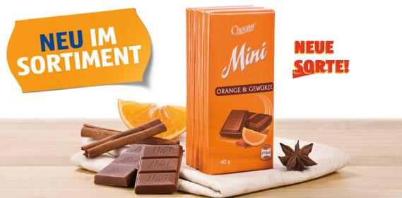 Mini-Schokolade, Dezember 2012