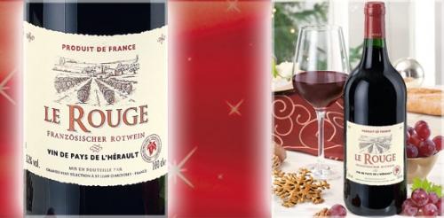 Französischer Rotwein IGP, November 2008