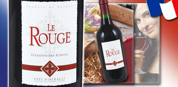 Französischer Rotwein IGP, September 2011