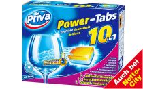 Power-Tabs Geschirr Reiniger 10 in 1, Juni 2012