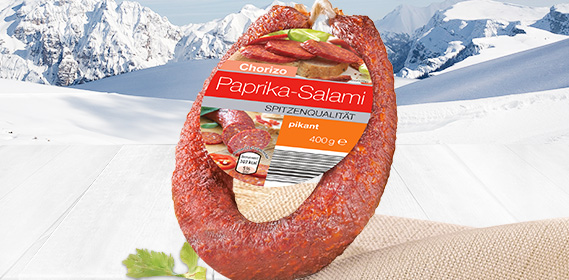 Salami-Sortiment (Ring-Salami), Januar 2011