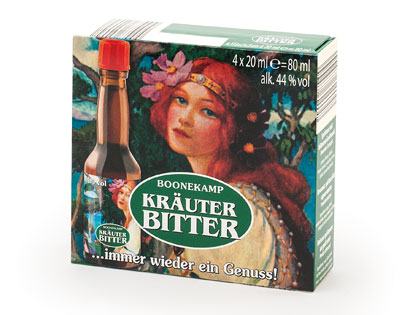 Kräuterbitter, 4 x 20 ml, M�rz 2014