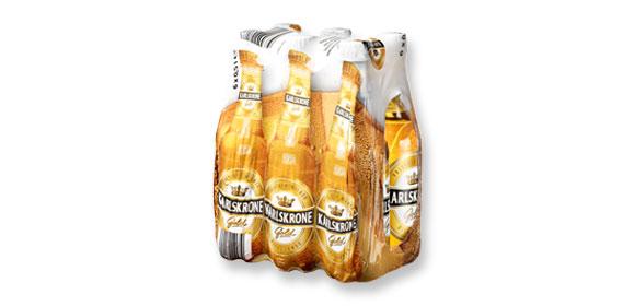 Bier Gold, 6 x 0,5 l, Juli 2012