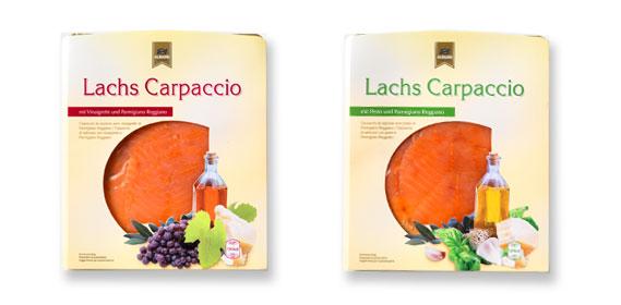 Lachs Carpaccio, Juli 2012
