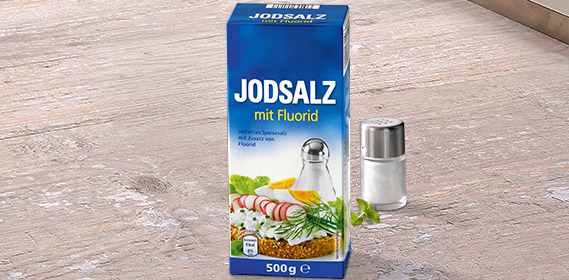 Jodsalz, August 2012