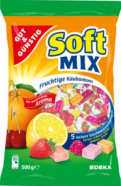 Soft-Mix Kaubonbons, Januar 2018