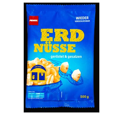 Erdnüsse, geröstet & gesalzen, M�rz 2016