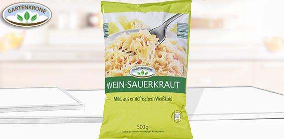 Wein-Sauerkraut, Oktober 2012