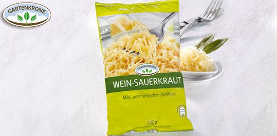 Wein-Sauerkraut, Januar 2013