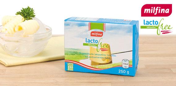Butter, laktosefrei, Juli 2012