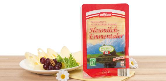 Heuchmilch-Emmentaler, Scheiben, laktosefrei, Juli 2012