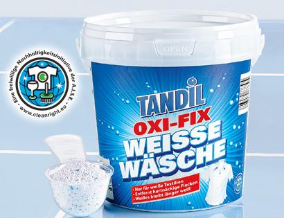 OXI-FIX Weiße Wäsche, Juli 2013