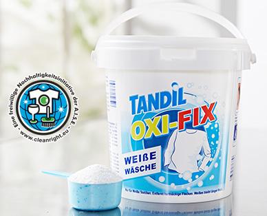 OXI-FIX Weiße Wäsche, Juli 2014
