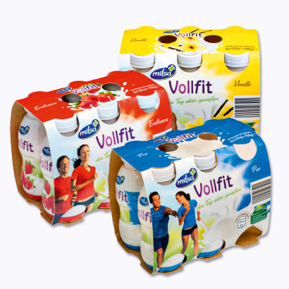 VOLLFIT probiot.Joghurt Drink, September 2014