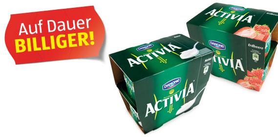 Activia Joghurt, 4x 120 g, August 2012