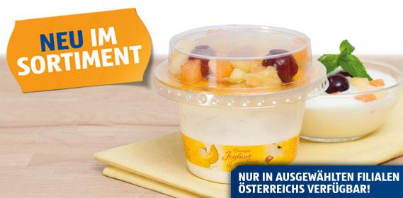 Joghurt mit frischen Früchten, August 2012