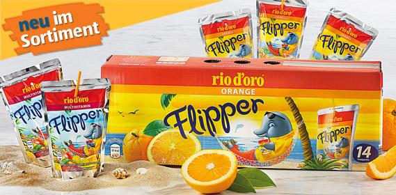 Flipper, 14x 0,2 L, August 2012