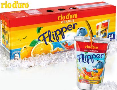 Flipper, 14x 0,2 L, Juni 2013