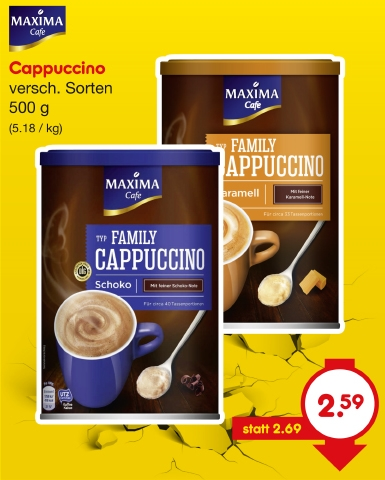 Cappuccino Typ Family, Mai 2018