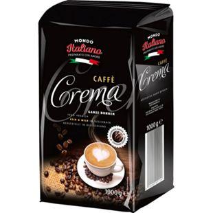 Caffé Crema, ganze Bohne, Juni 2018