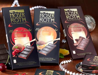 Schokolade, gefüllt, 5x 37,5g, November 2013