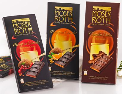 Schokolade, gefüllt, 5x 37,5g, M�rz 2014