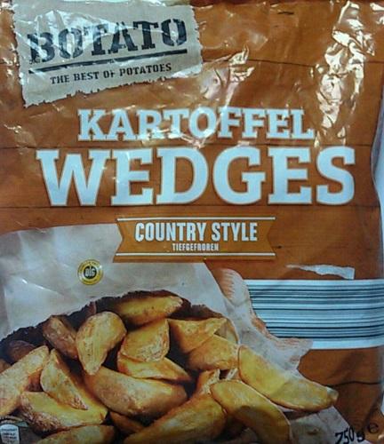 Kartoffel Wedges - Country Style, Oktober 2017