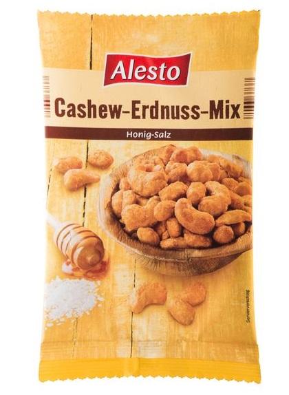 Cashew-Erdnuss-Mix, September 2017