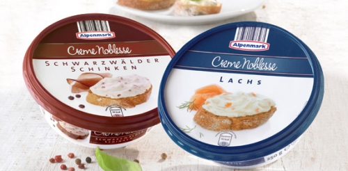 Schmelzkäsezubereitung, Creme Noblesse, September 2012