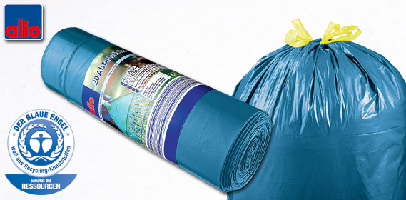 Abfallsäcke, 120 L, September 2012