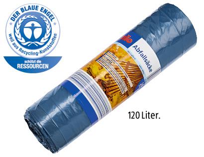 Abfallsäcke, 120 L, Dezember 2013