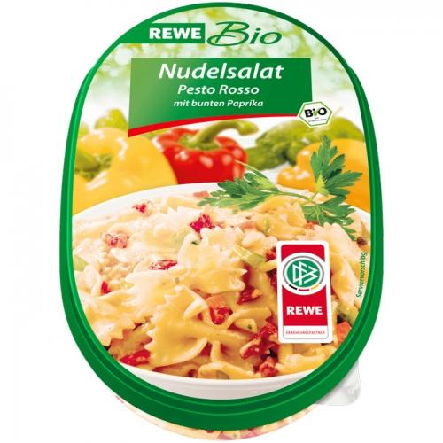 Nudelsalat Pesto Rosso, Februar 2017