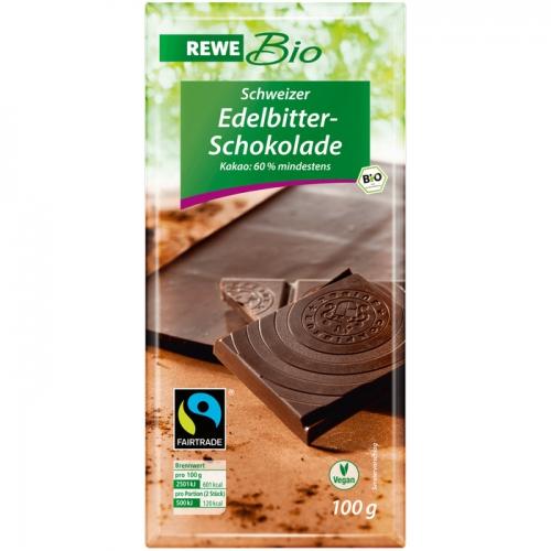 Edelbitter-Schokolade, Februar 2017