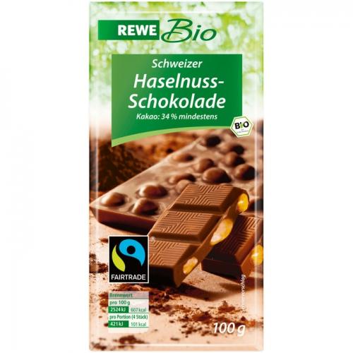 Haselnuss-Schokolade, Februar 2017