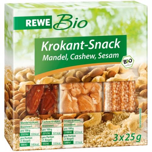 Krokant-Snack, Februar 2017