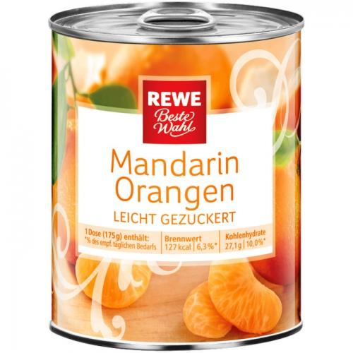 Mandarin-Orangen, M�rz 2017