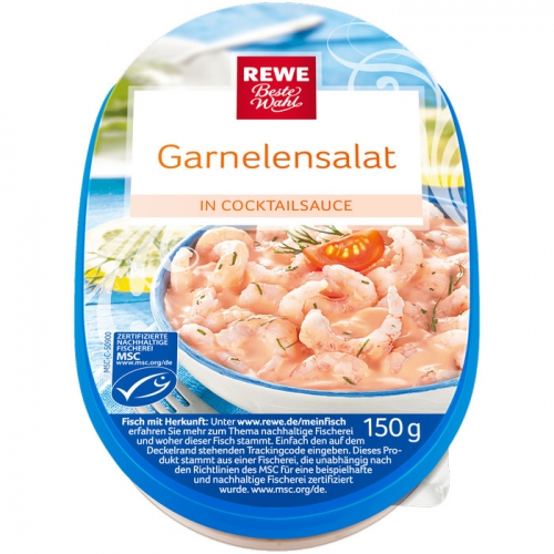 Garnelensalat in Cocktailsauce, M�rz 2017