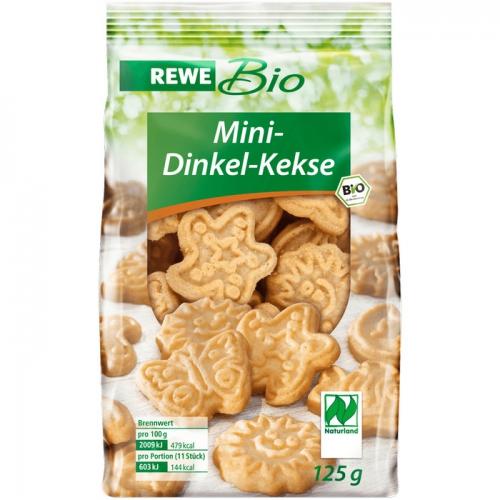 Mini-Dinkel-Kekse, Februar 2017